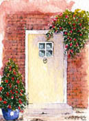Cottage Door #1 (no 1 in a series) by Wendy Griffiths